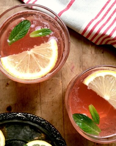 Rhubarb Juice is quick to make and oh so pretty.