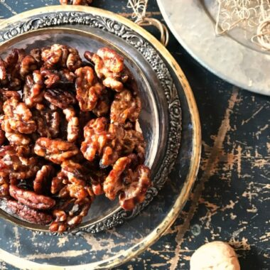 molasses candied walnuts
