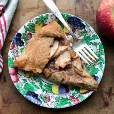 Easiest apple galette recipe