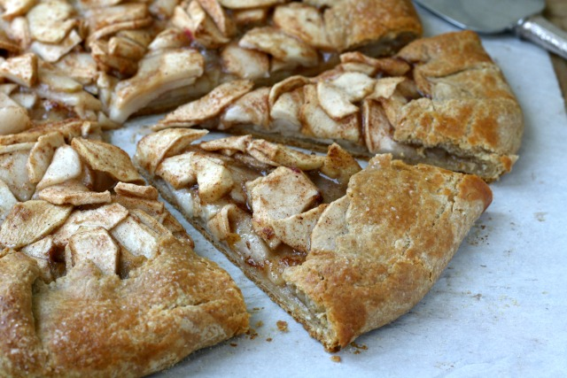 Easiest apple galette recipe: If you love apple pie but find that making a homemade pie a little fiddly, I have a solution: make an apple galette - a free-form pie that offers all of the pleasure of a homemade pie with half the effort.