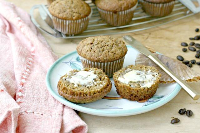 Secret ingredient brown sugar banana muffins