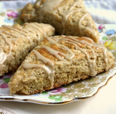 maple syrup oatmeal scones