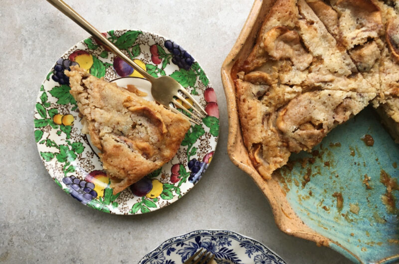 Crustless Apple Pie is the Easiest Pie